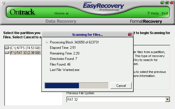 Easy Recovery screenshot 1
