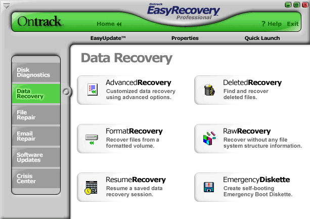 Easy Recovery screenshot 3
