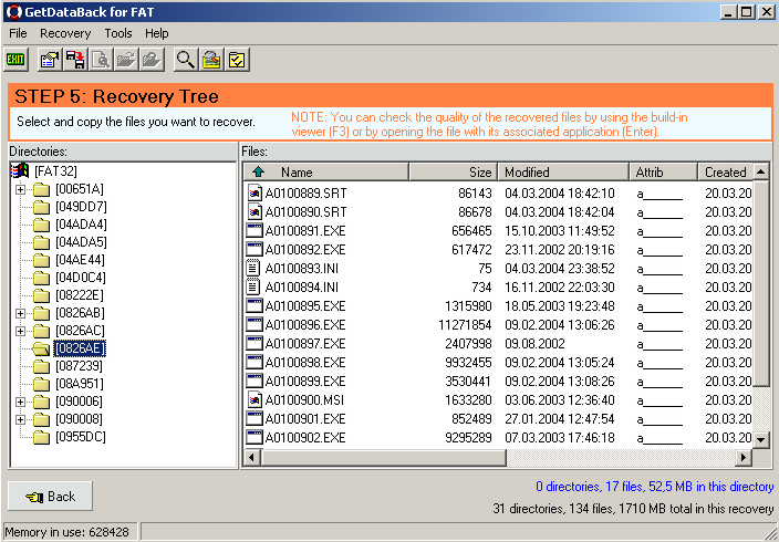 GetDataBack screenshot 2